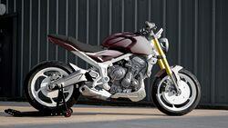 08/2020, Triumph Trident Design Prototyp