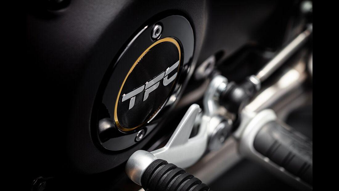 10/2019, Triumph Bobber TFC