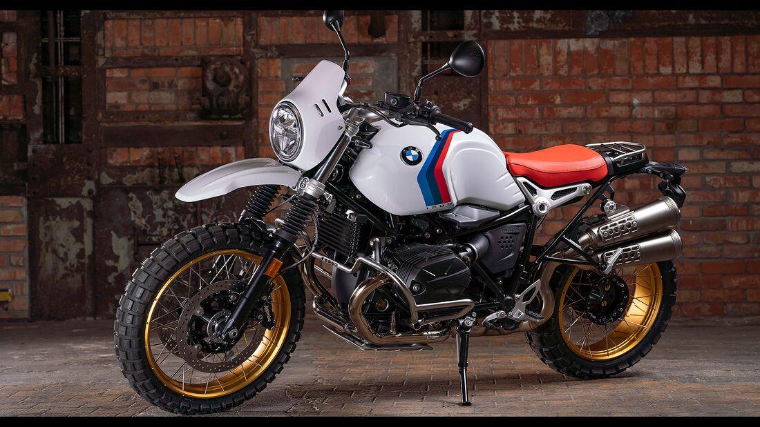 10/2020 BMW R nineT Modelljahr 2021.
