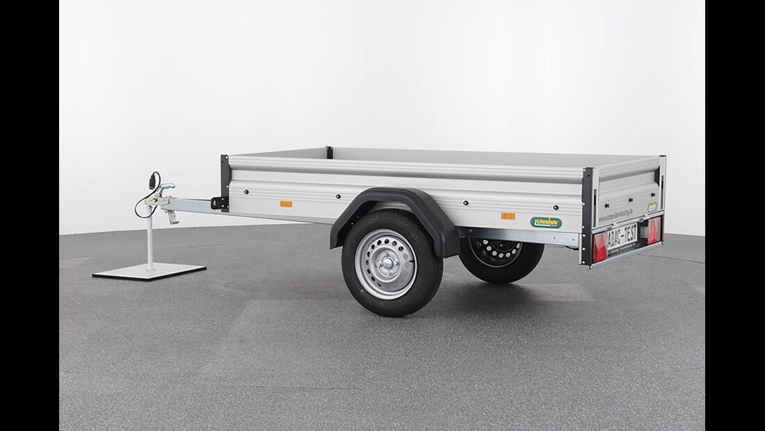 ADAC Anhängertest 750 kg 2019
