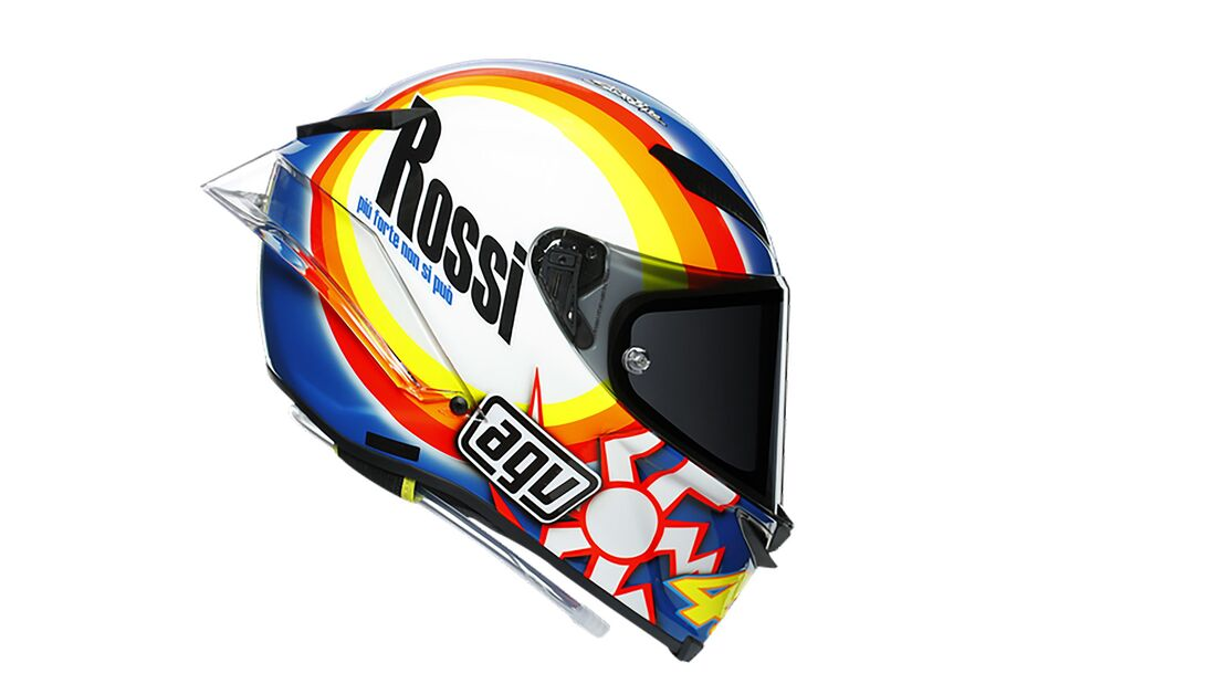 AGV PISTA GP RR Rossi Sonderedition