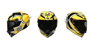 AGV PISTA GP RR Rossi Sonderedition