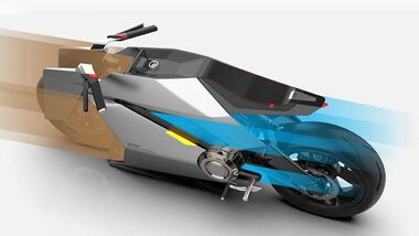 Aether Motorcycle Concept