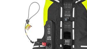 Airbagwesten mit Reißleinen-System