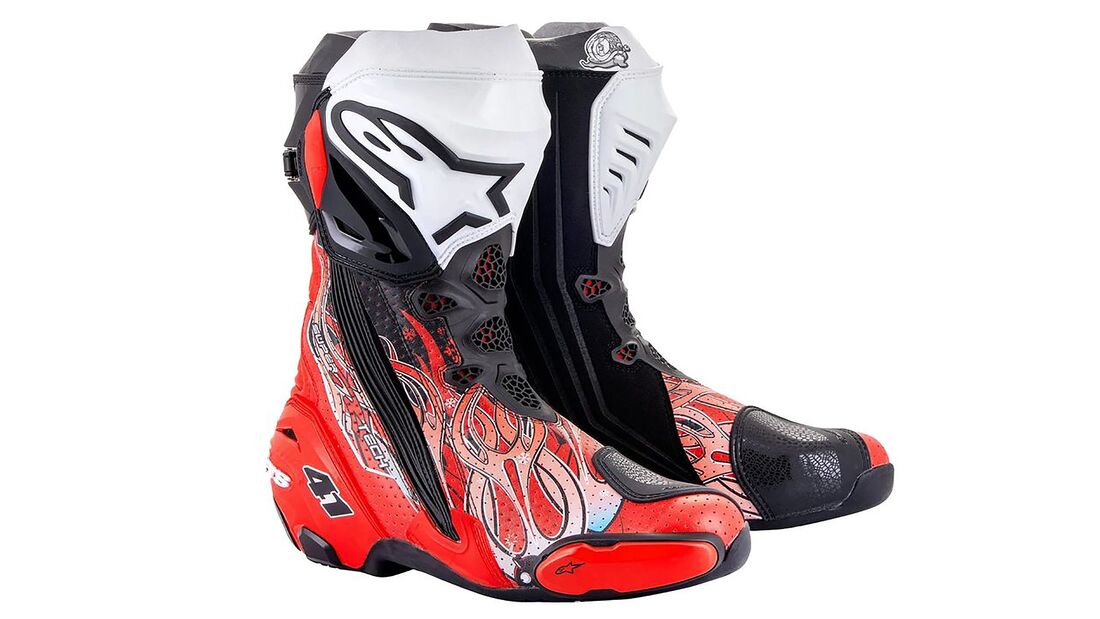 Alpinestars Supertech R Stiefel Limited Edition Haga