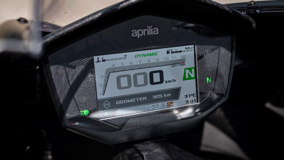 Aprilia RS 660 im Fahrbericht.