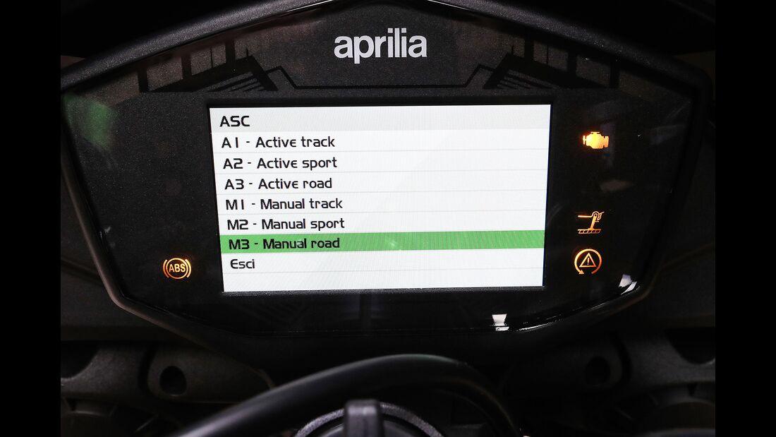Aprilia Tuono V4 1100 Factory Fahrbericht
