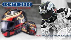 Arai Isle of Man TT Limited Edition 2020 RX-7V
