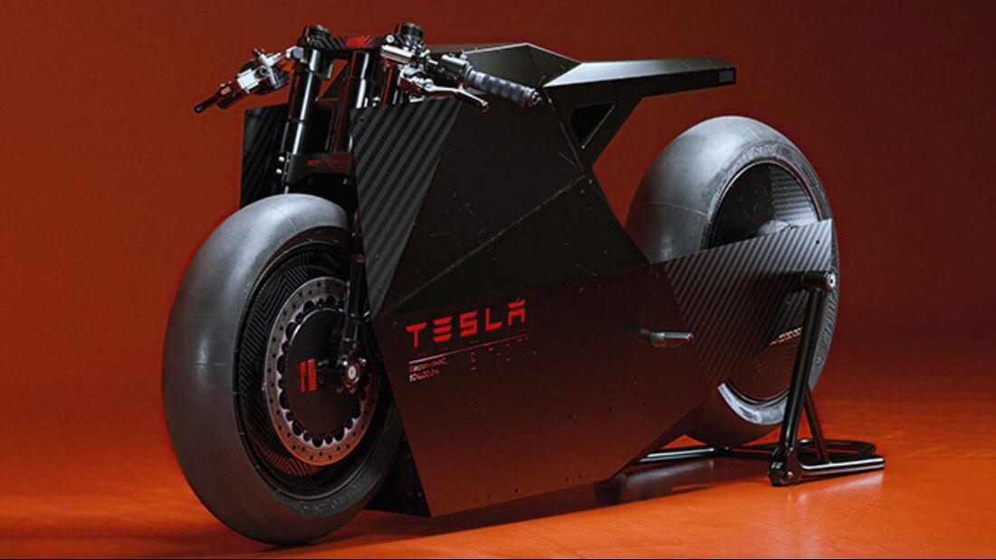 Ash Thorp Tesla Studie