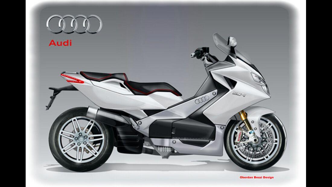 Audi SC-1 Superscooter Concept.