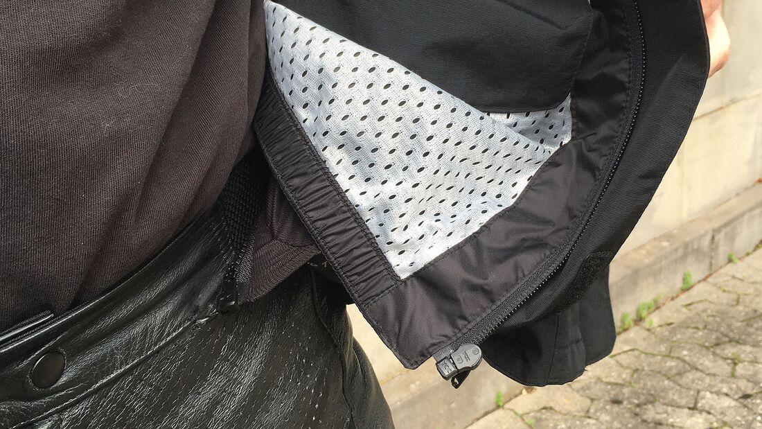 Ausprobiert FLM Sport Textiljacke 2.1