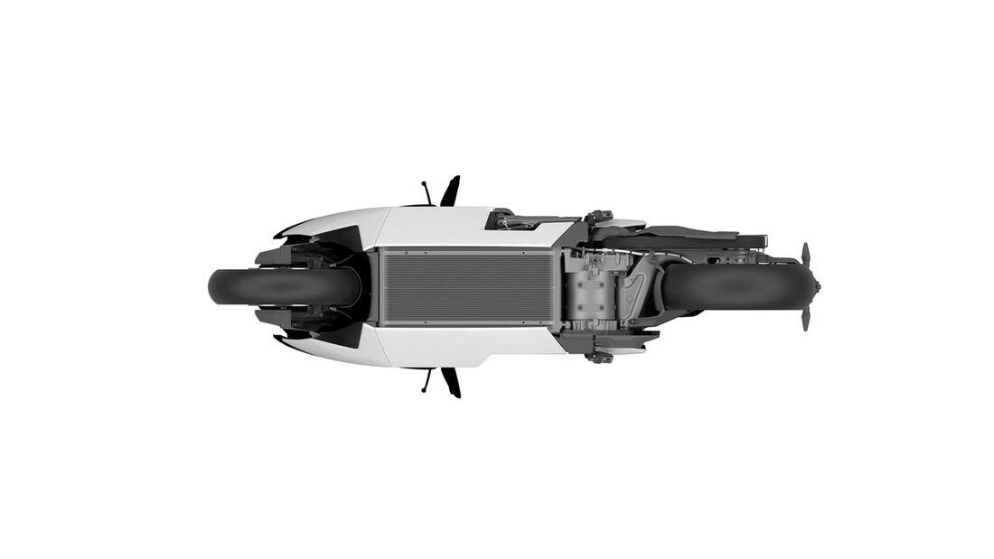 BMW CE 04 Elektroroller Patentzeichnungen