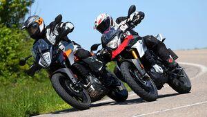 BMW G 310 GS KTM 390 Adventure Vergleichstest