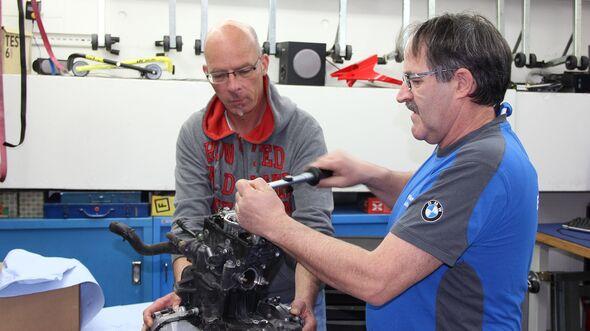 BMW G 310 R Dauertest Motor zerlegt