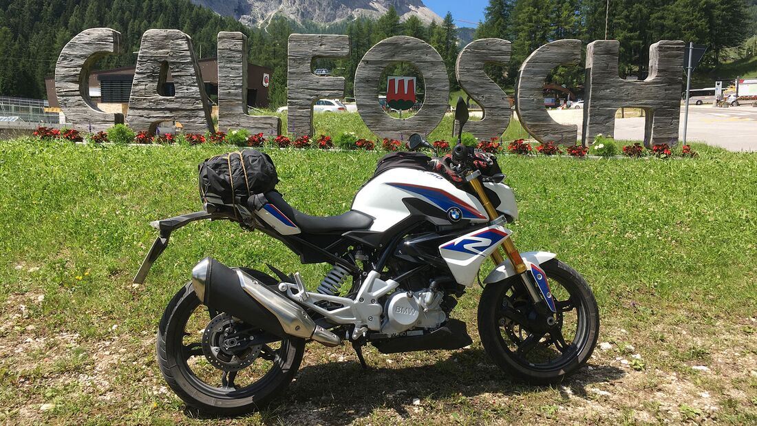 BMW G 310 R in Tirol