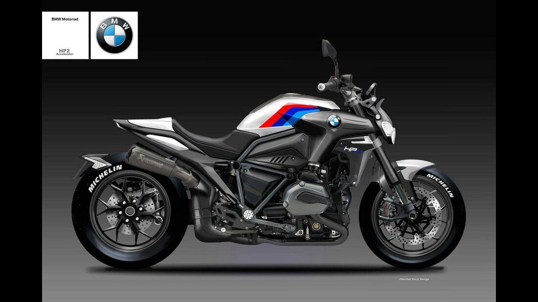 BMW HP2 Accelerator.