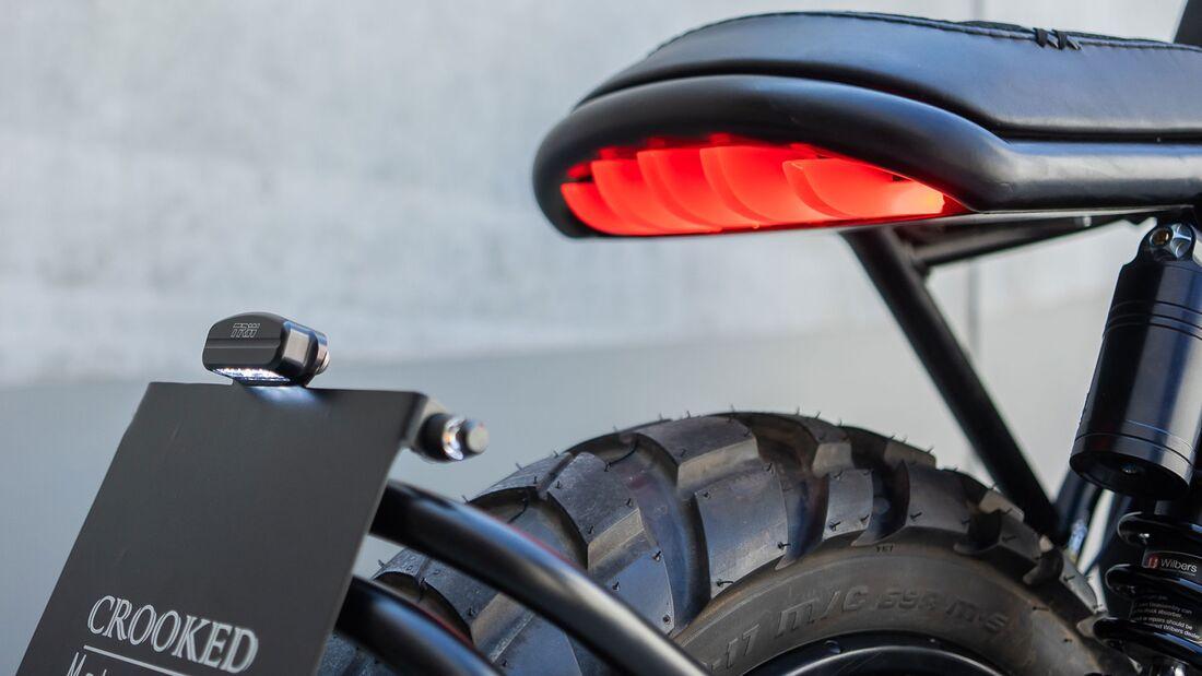 BMW K100 R Nightcrawler Crooked Motorcycles