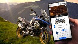 "BMW Motorrad ""Rent a Ride""."