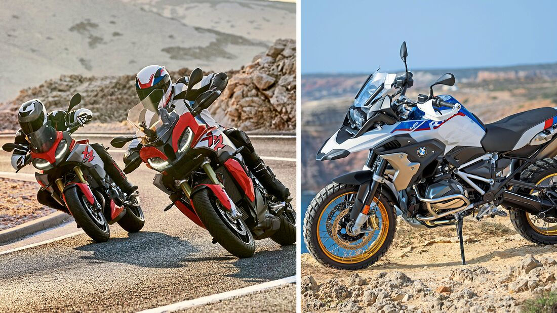 BMW Motorrad im Modelljahr 2020.