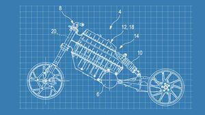 BMW Patent Elektromotorrad