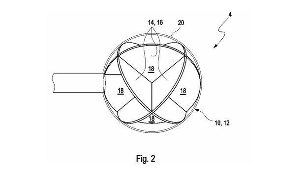 BMW Patent Radarreflektoren
