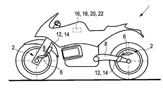BMW Patent aktive Aerodynamik Flügelelemente Winglets