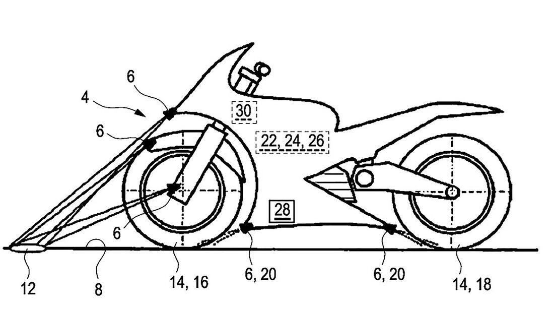 BMW Patent vorausschauendes Fahrwerk