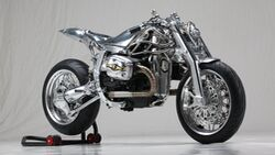 BMW R 1100 S Officine Mermaid & Radikal Chopper.