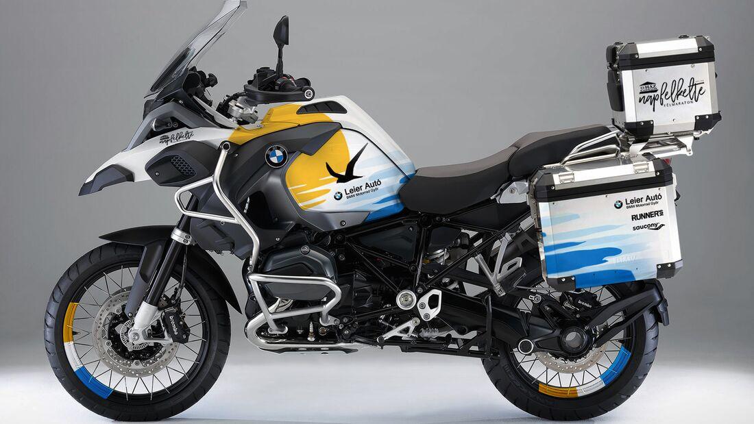 BMW R 1200 GS - Design for Napfelkelte Félmaraton von Jakusa Design.