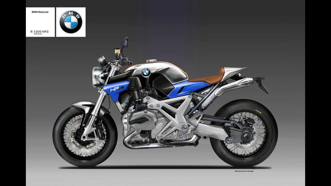 BMW R 1200 HP2 Classic.