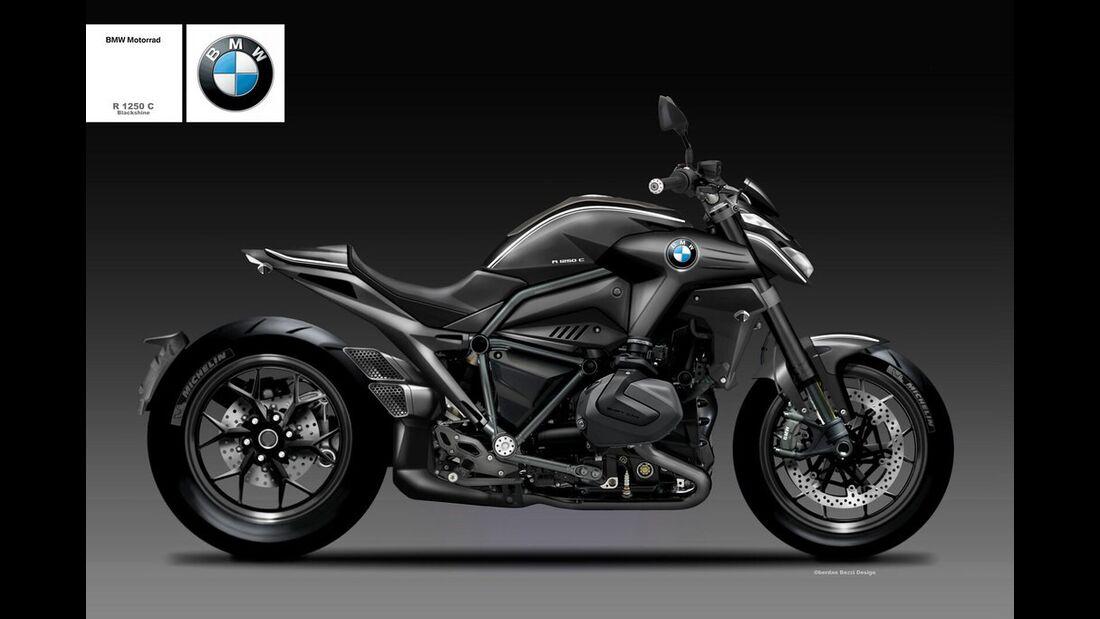 BMW R 1250 C Black Shine.
