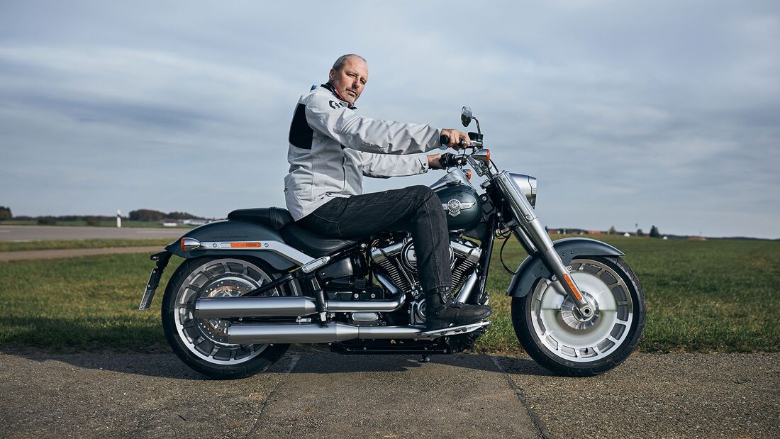BMW R 18 Harley-Davidson Fat Boy 114 Vergleichstest