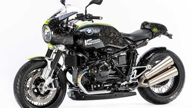 BMW R nineT Black Diamond Carbon