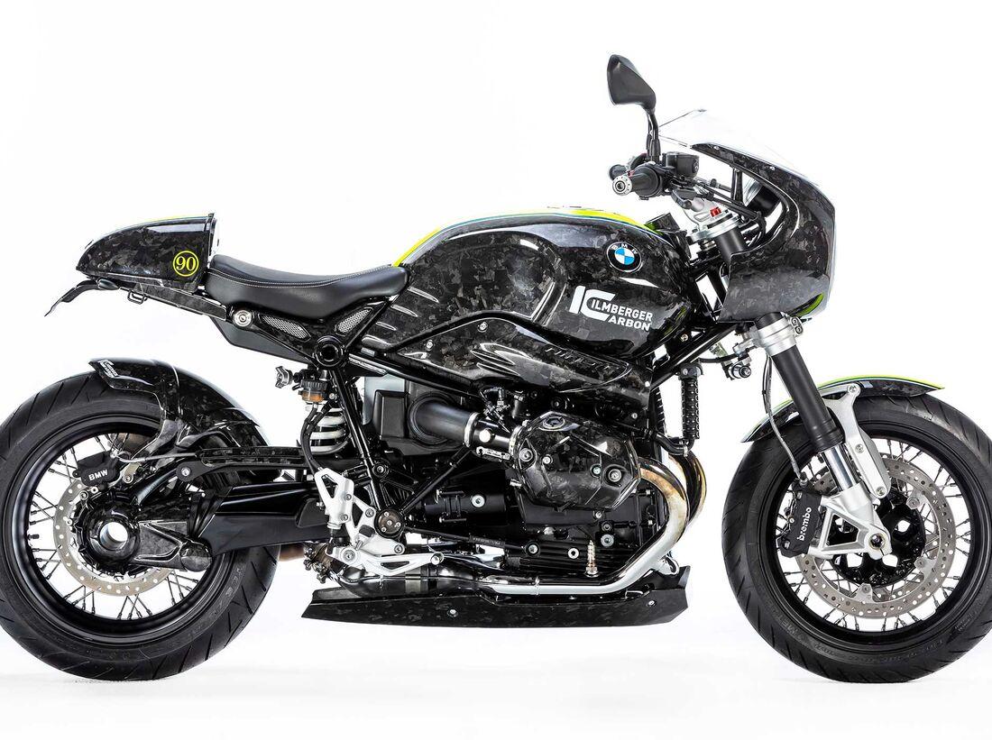 BMW R nineT Black Diamond Carbon von Ilmberger