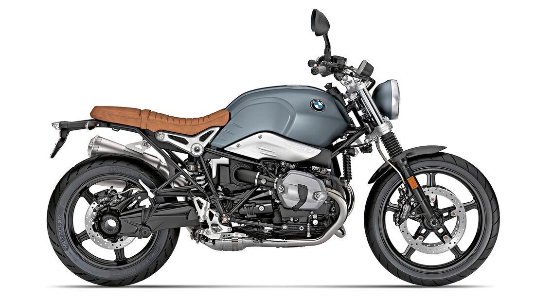 BMW R nineT Scrambler.