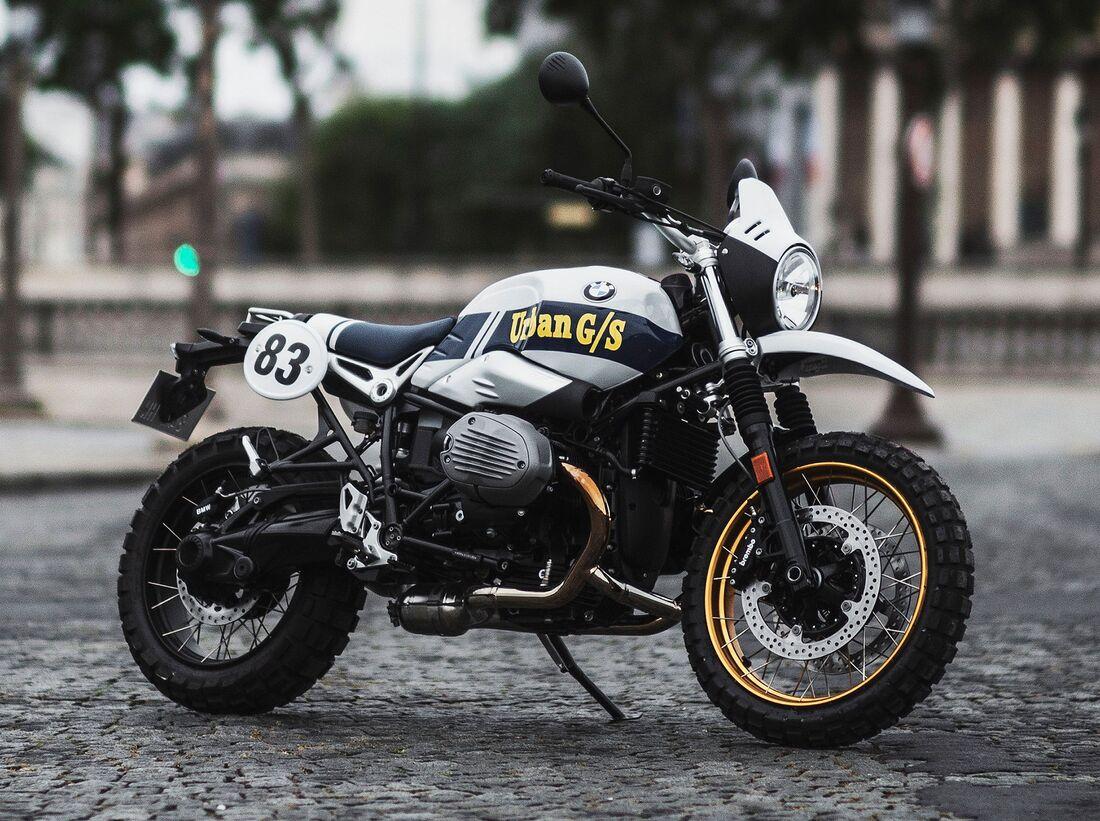 BMW R nineT Urban G/S Dakar Series #1: Sondermodell für