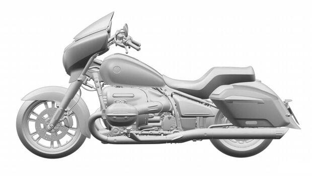 BMW R1800 Touerer Patentzeichnungen