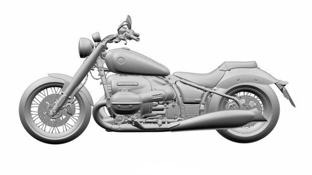 BMW R1800 Tourer Patentzeichnungen