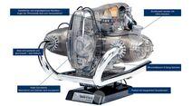 BMW R90 S Boxermotor Bausatz