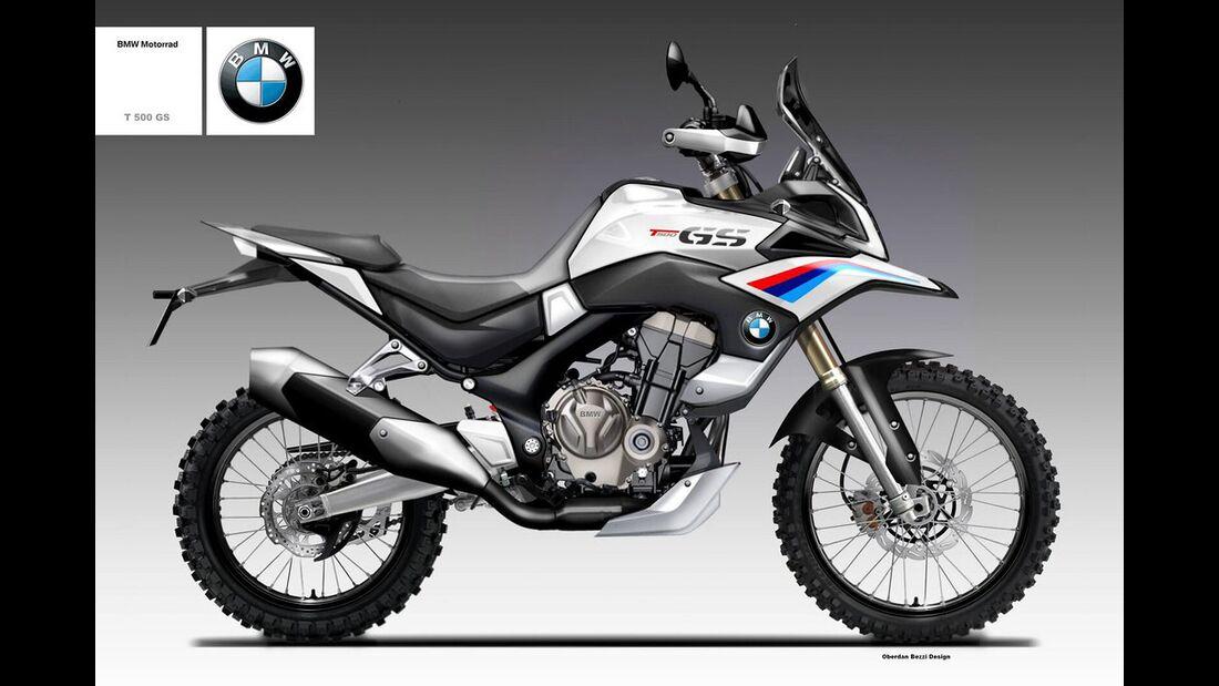 BMW T 500 GS.