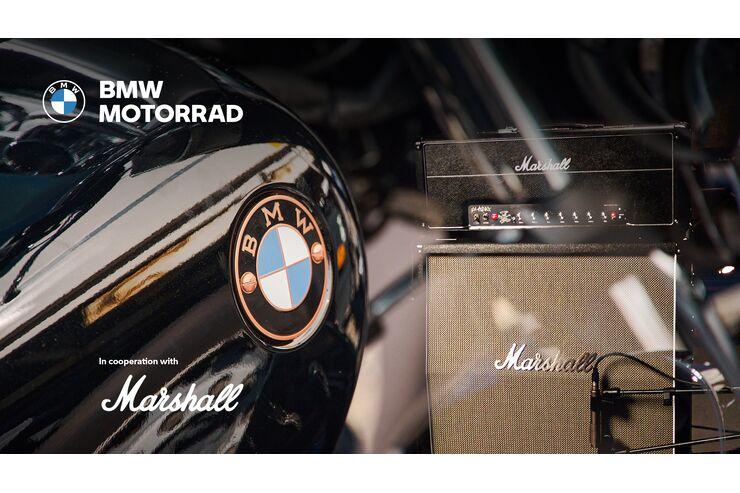 BMW Motorrad und Marshall Amp als Partner: Mehr Sound bei BMW
