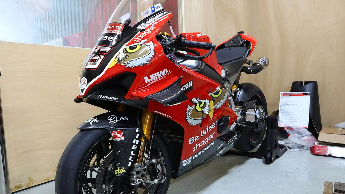 BSB Superbike Scott Redding 2019 Ducati Panigale V4