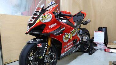 BSB Superbike Scott Redding 2019 Ducati Panigale V4
