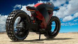 Baxley Moto Rendering Design Konzept
