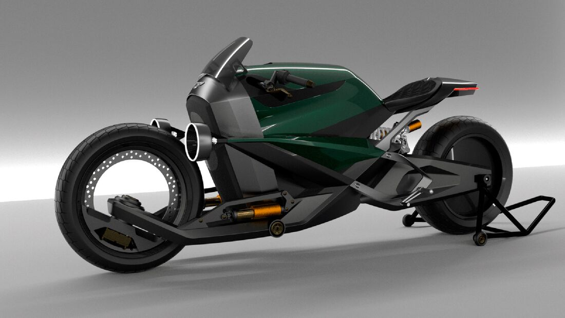 Bentley Motorrad Voltage Racer