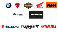 Beste Motorradmarken 2019 Logos