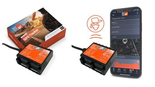 BikerSOS GPS-Tracker fürs Motorrad