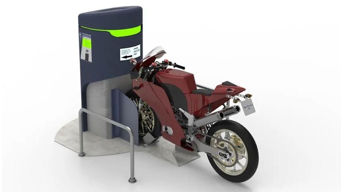 Bikers Guardian Motorradparksystem