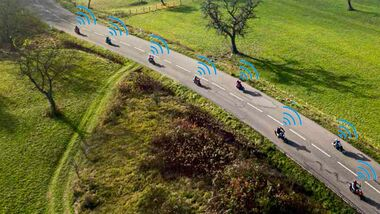 Bluetooth-Kommunikationssysteme Motorrad Test