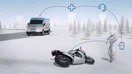 Bosch Help Connect - Automatisches Notrufsystem für Motorradfahrer.